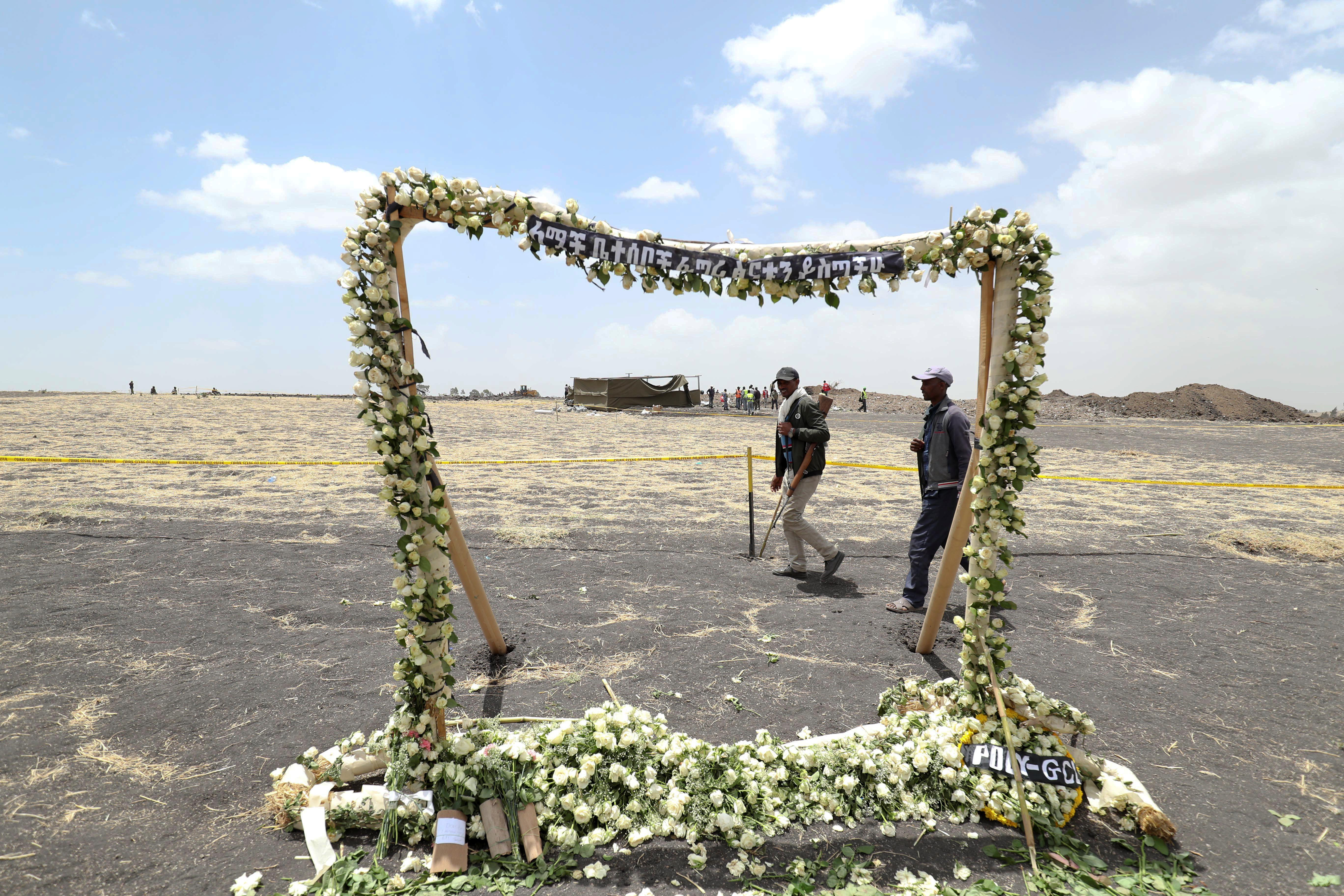 Last remains of Ethiopian plane crash victims buried, families say...