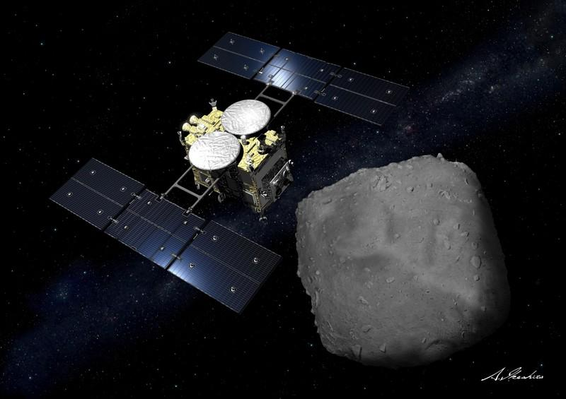 Japan space probe on its way back after asteroid mission