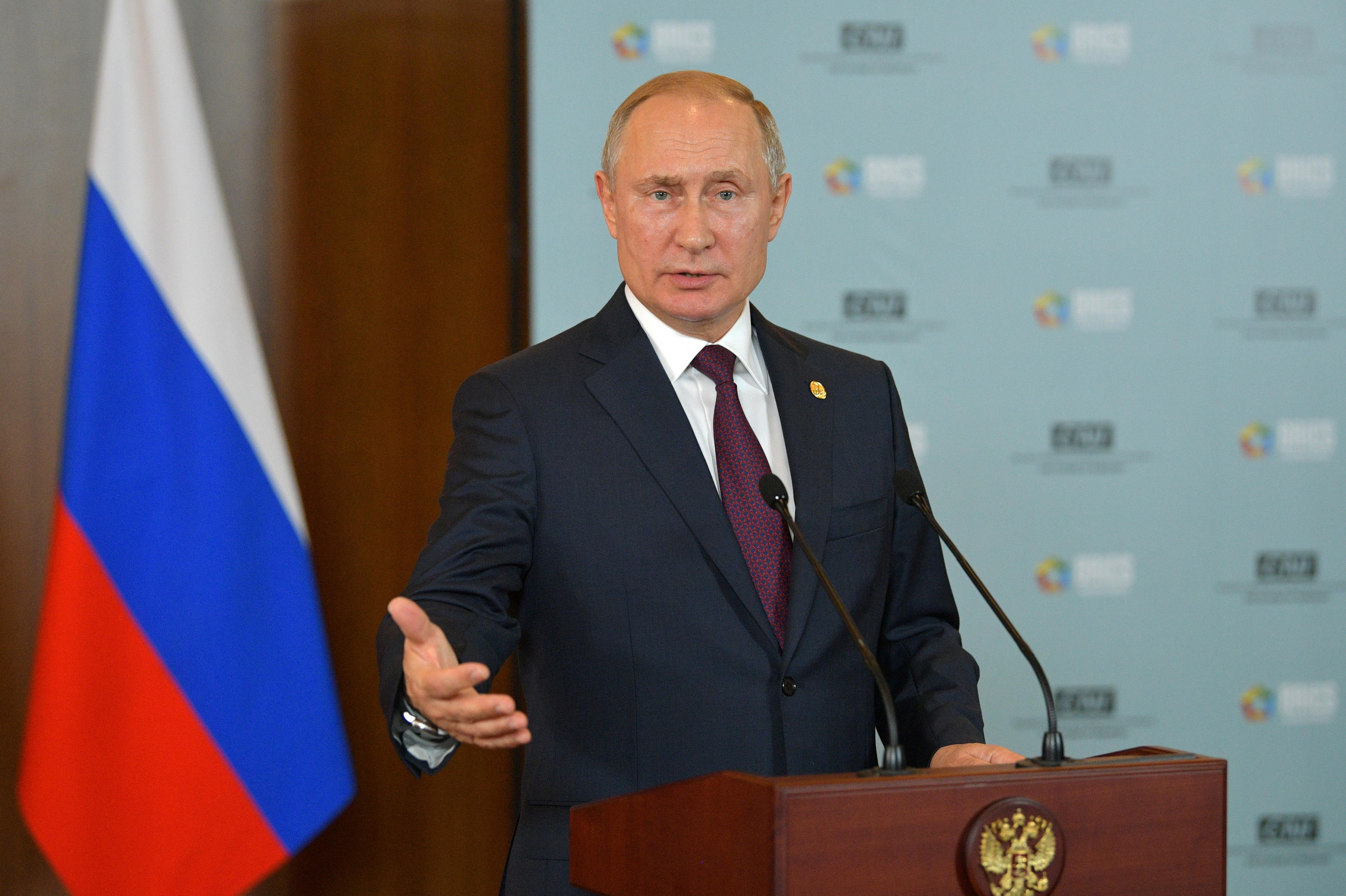 Kremlin confirms Putin to take part in Ukrainian peace summit in Paris