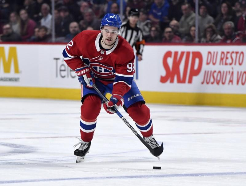 Canadiens' Drouin, Byron set for surgical procedures