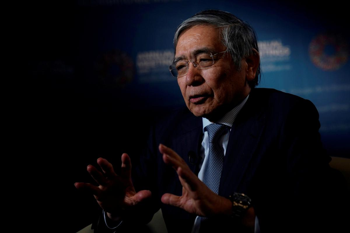 BOJ conducting research on digital currency: Kuroda