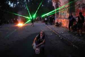 Raging street protests grip Chile
