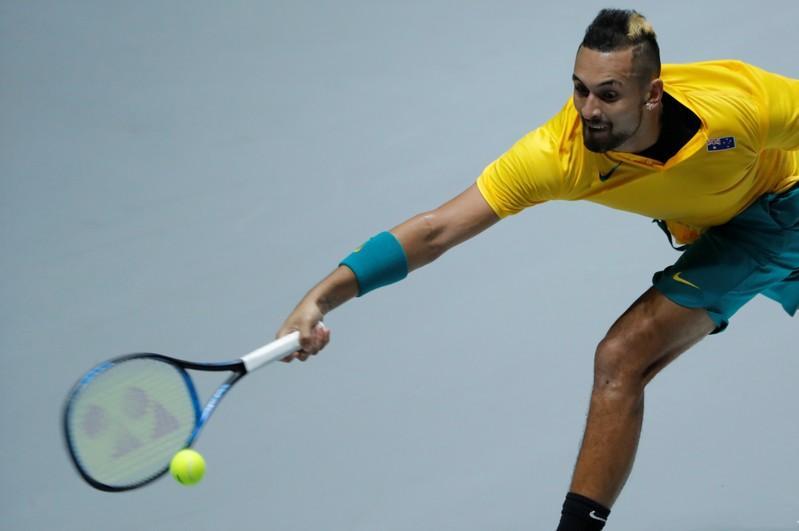 Kyrgios confident Australia can win Davis Cup