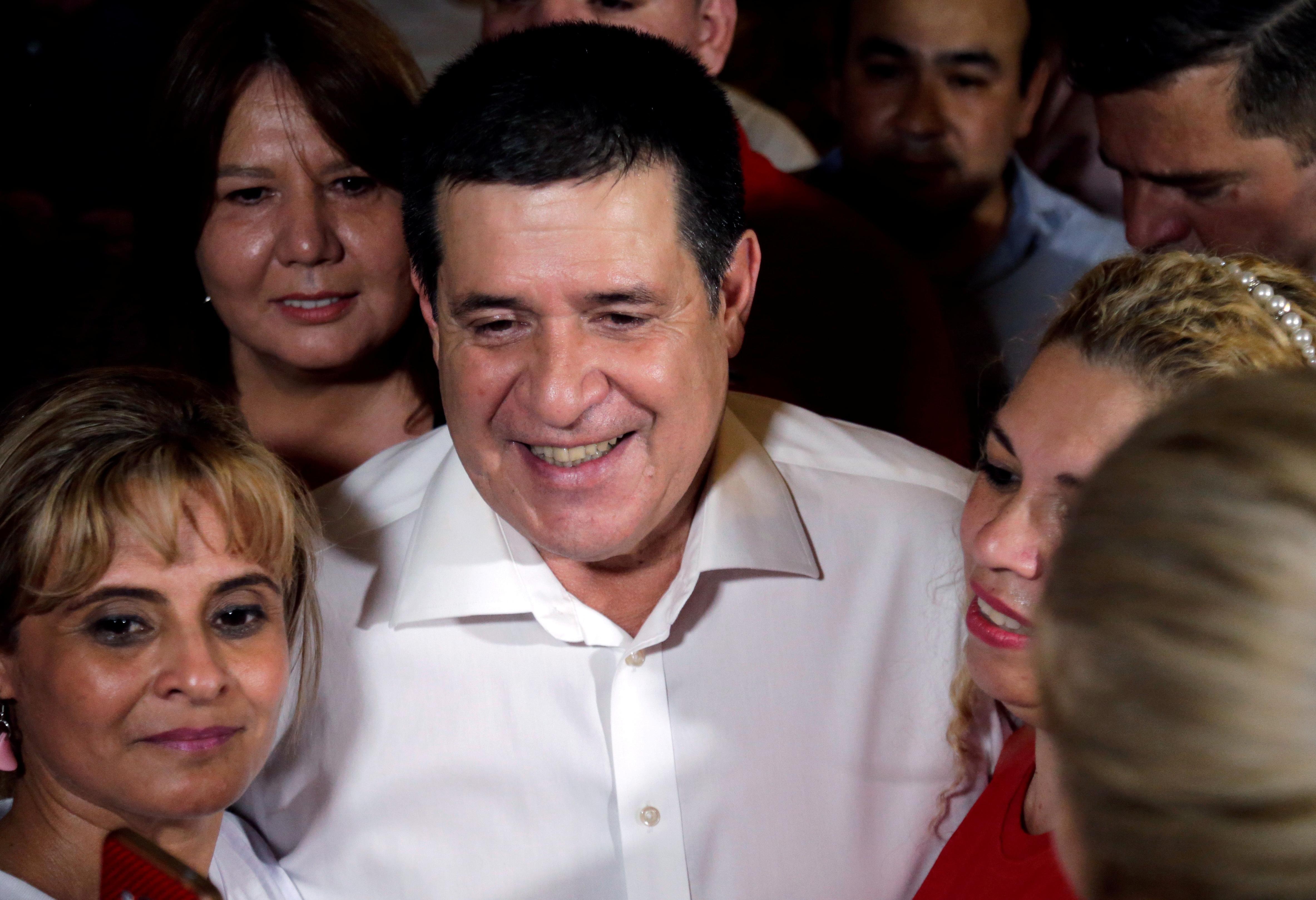 Brazilian judge orders arrest of former Paraguayan President Cartes