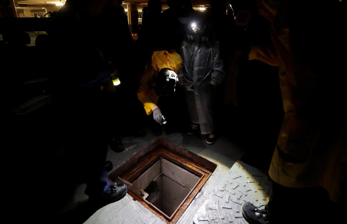 Tear gas above ground, snakes below: Hong Kong protesters take to sewers to flee