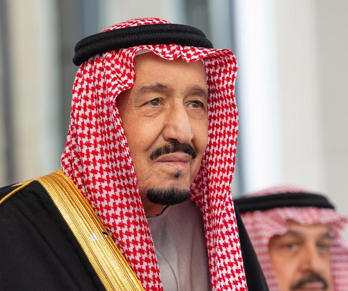 Saudi king blames Iran for