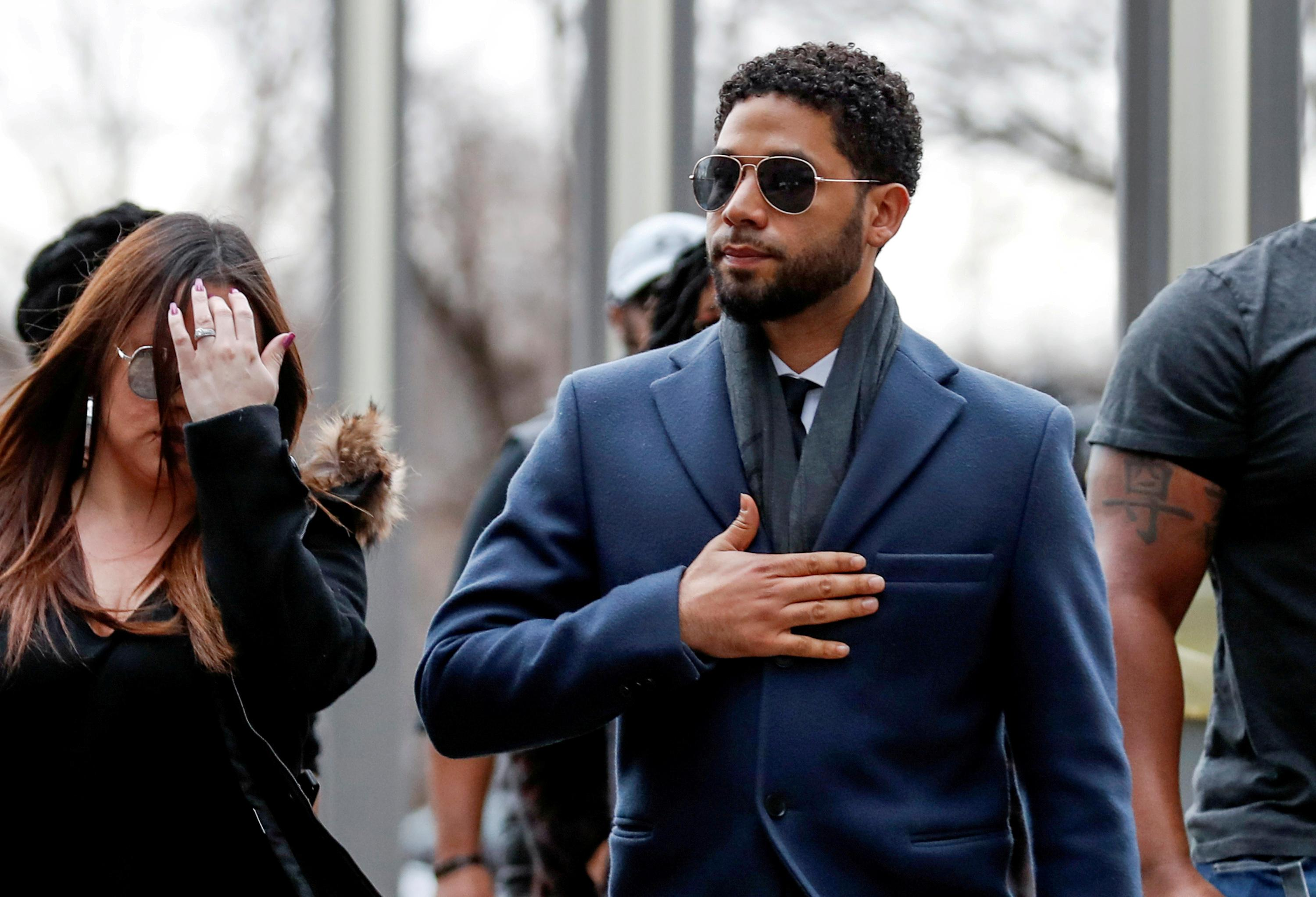 Jussie Smollett sues Chicago, claims malicious prosecution over...