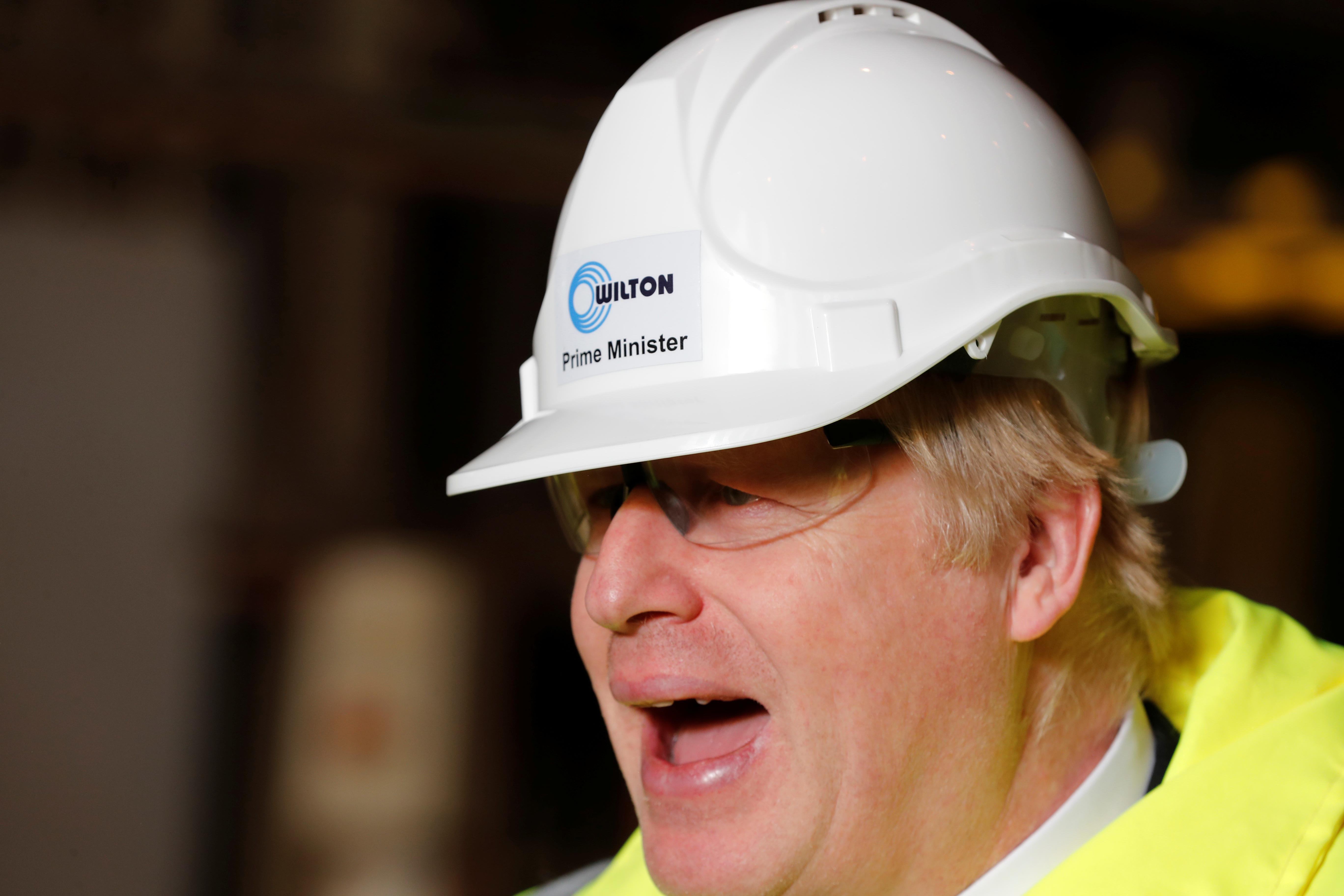 UK's Johnson raises prospect of multi-billion pound payroll tax cut
