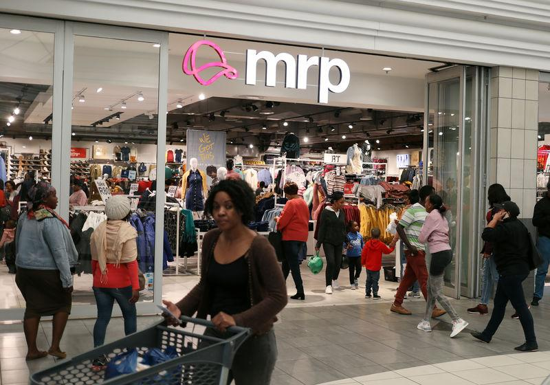 S.Africa's Mr Price H1 profit drops 10% as clothing unit lags