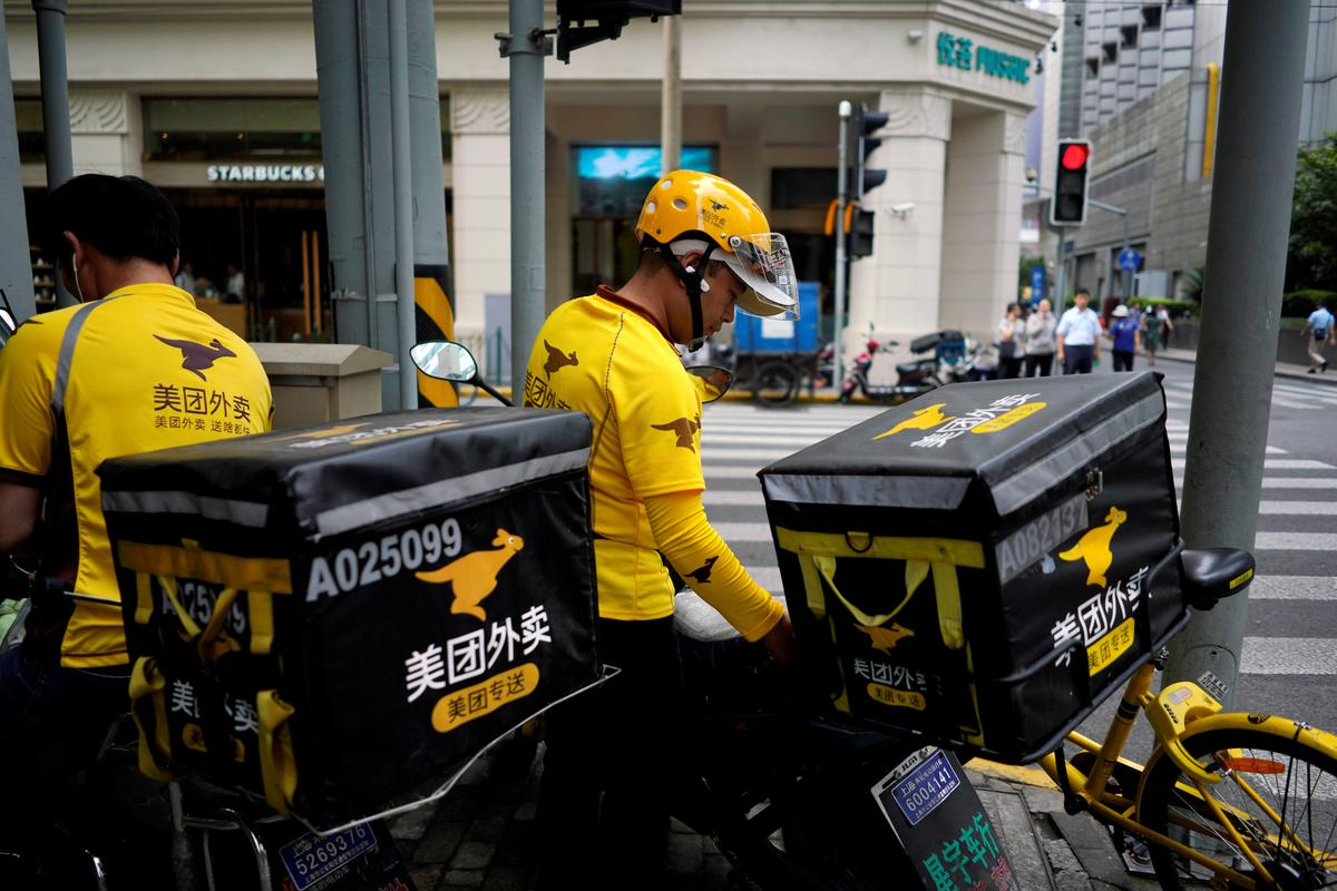 China food delivery firm Meituan continues strong run since listing