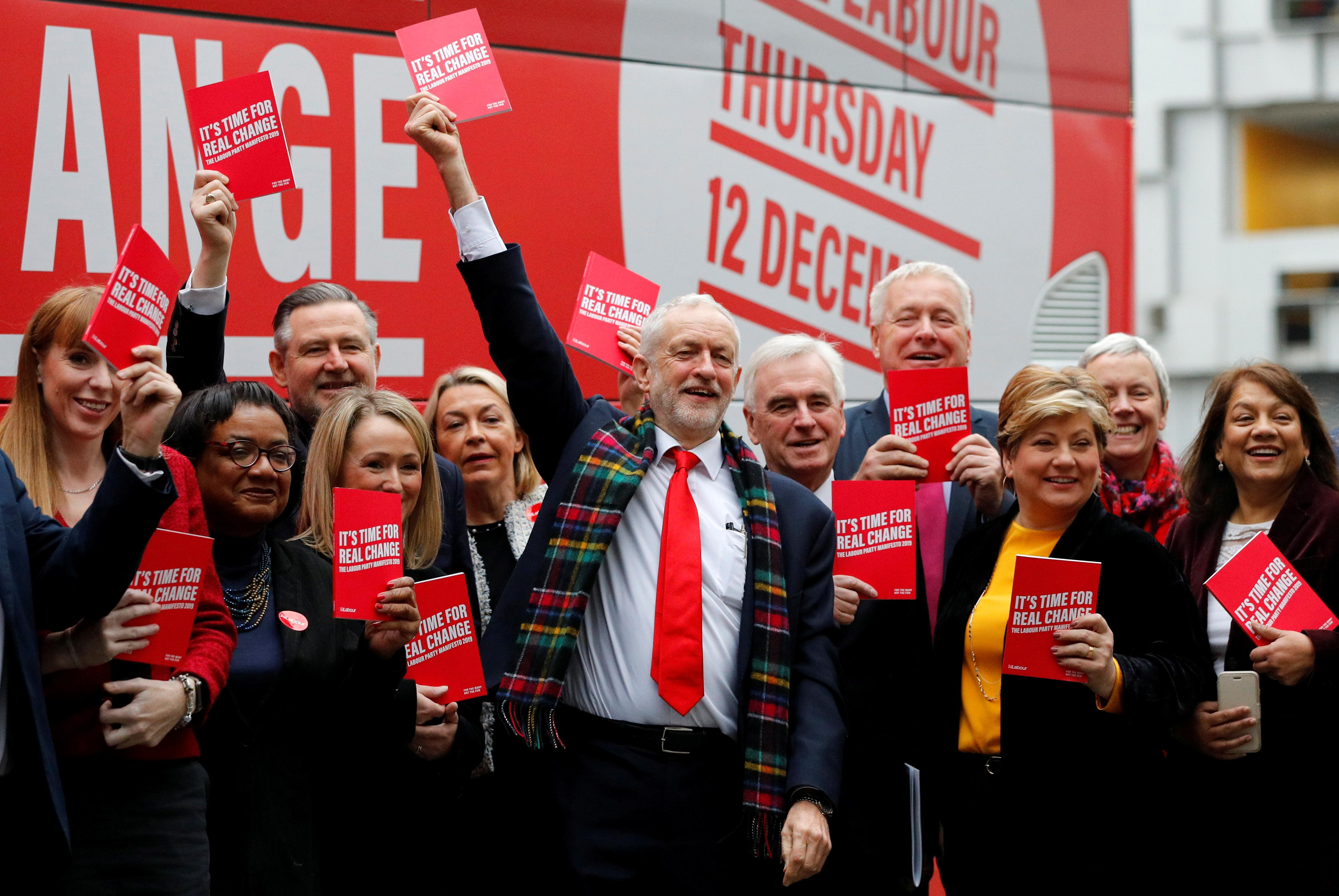'Radical and ambitious': UK's Labour unveils socialist plan for...