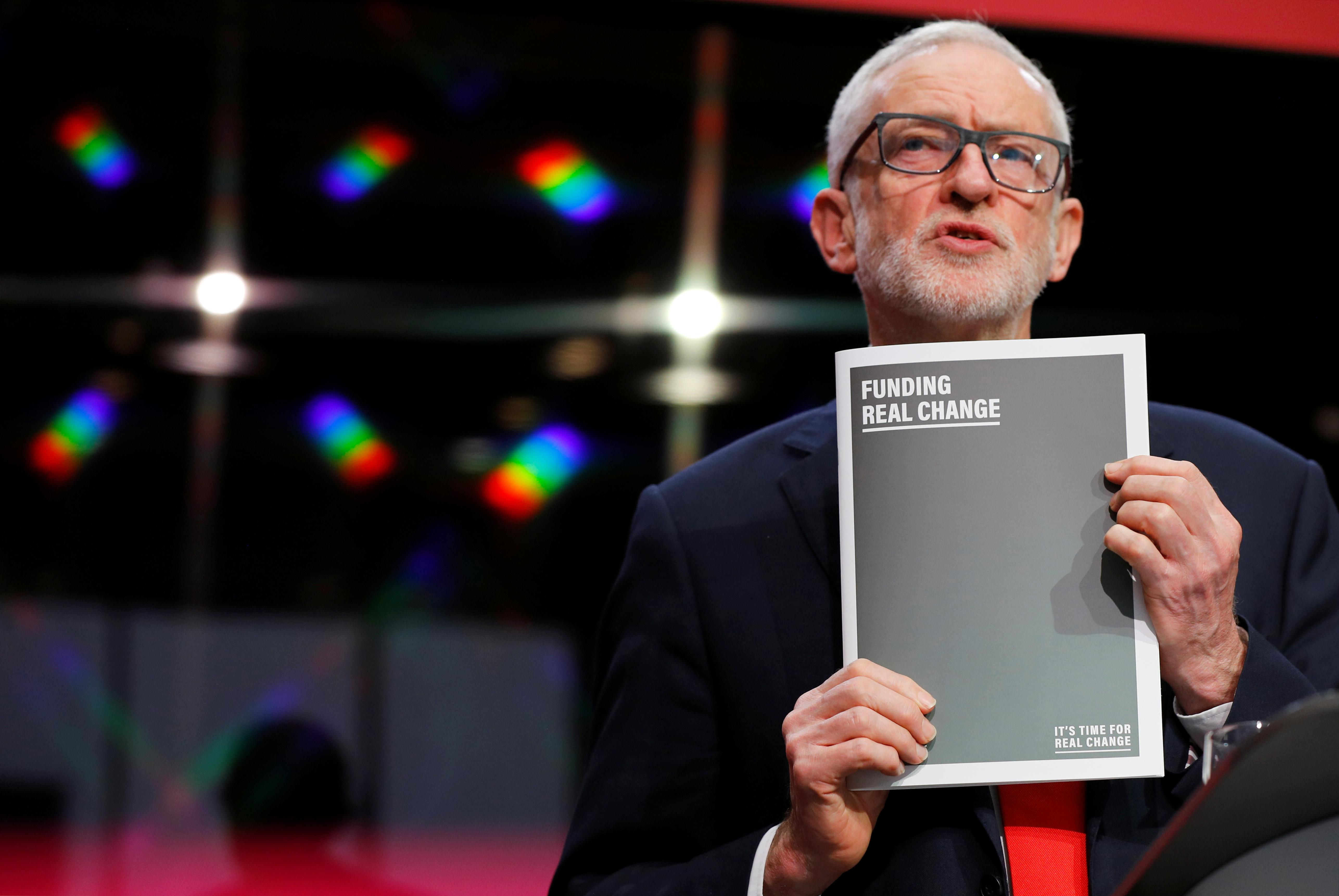 Corbyn: We are not fighting election to go into coalition