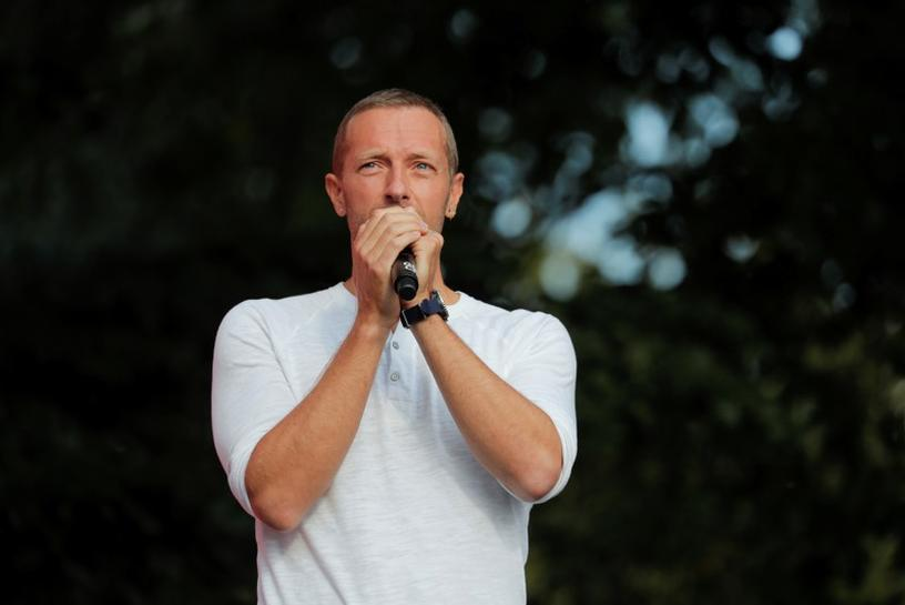 Chris Martin (Coldplay) OMS #TogetherAtHome