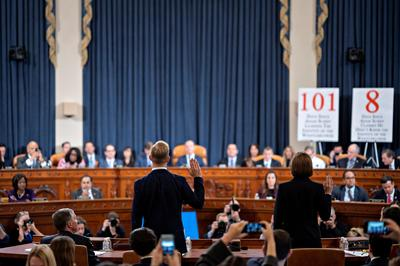 Key quotes from the fifth public Trump impeachment hearing