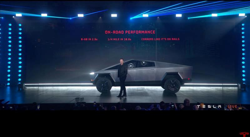 Tesla's electric pickup truck flouts convention with angular design...