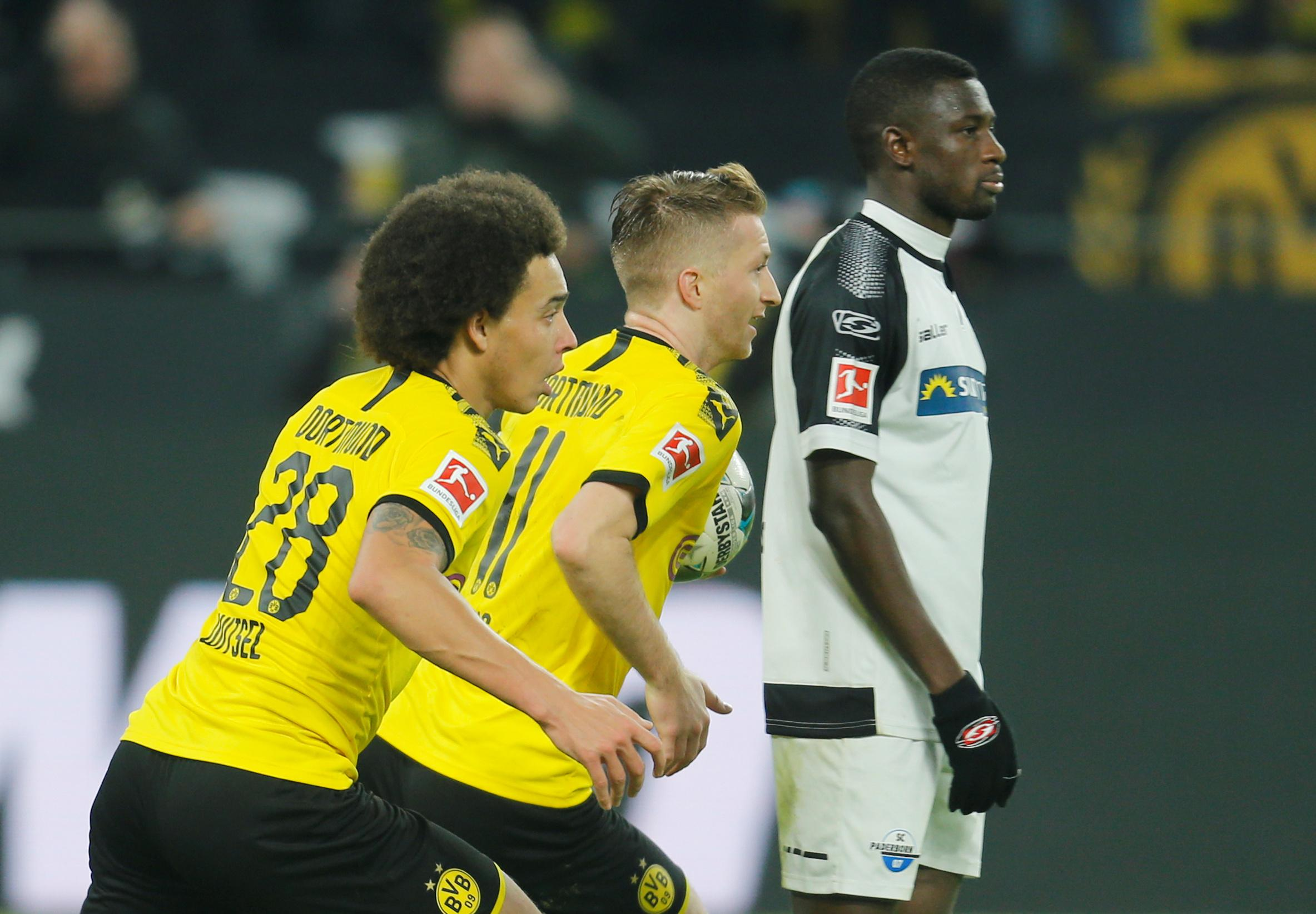 Comeback kings Dortmund rescue 3-3 draw against Paderborn
