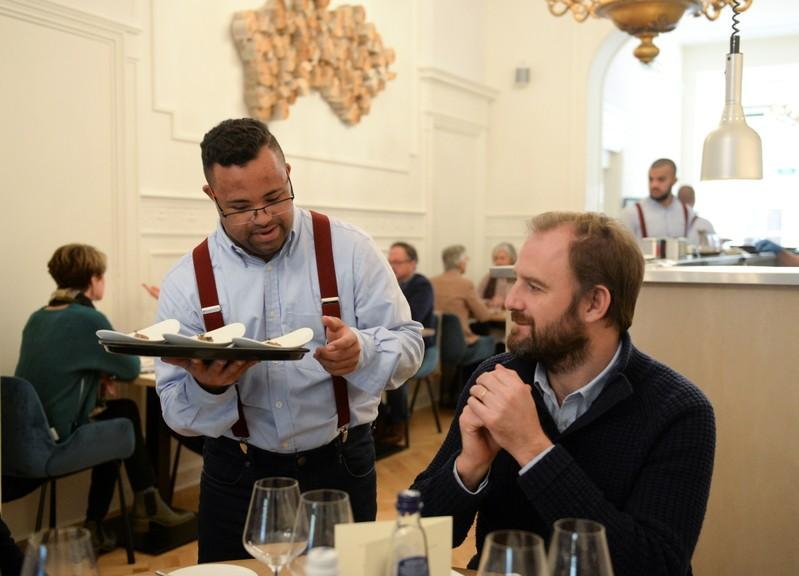 Dining and Down Syndrome, a winning combination for Brussels restaurant