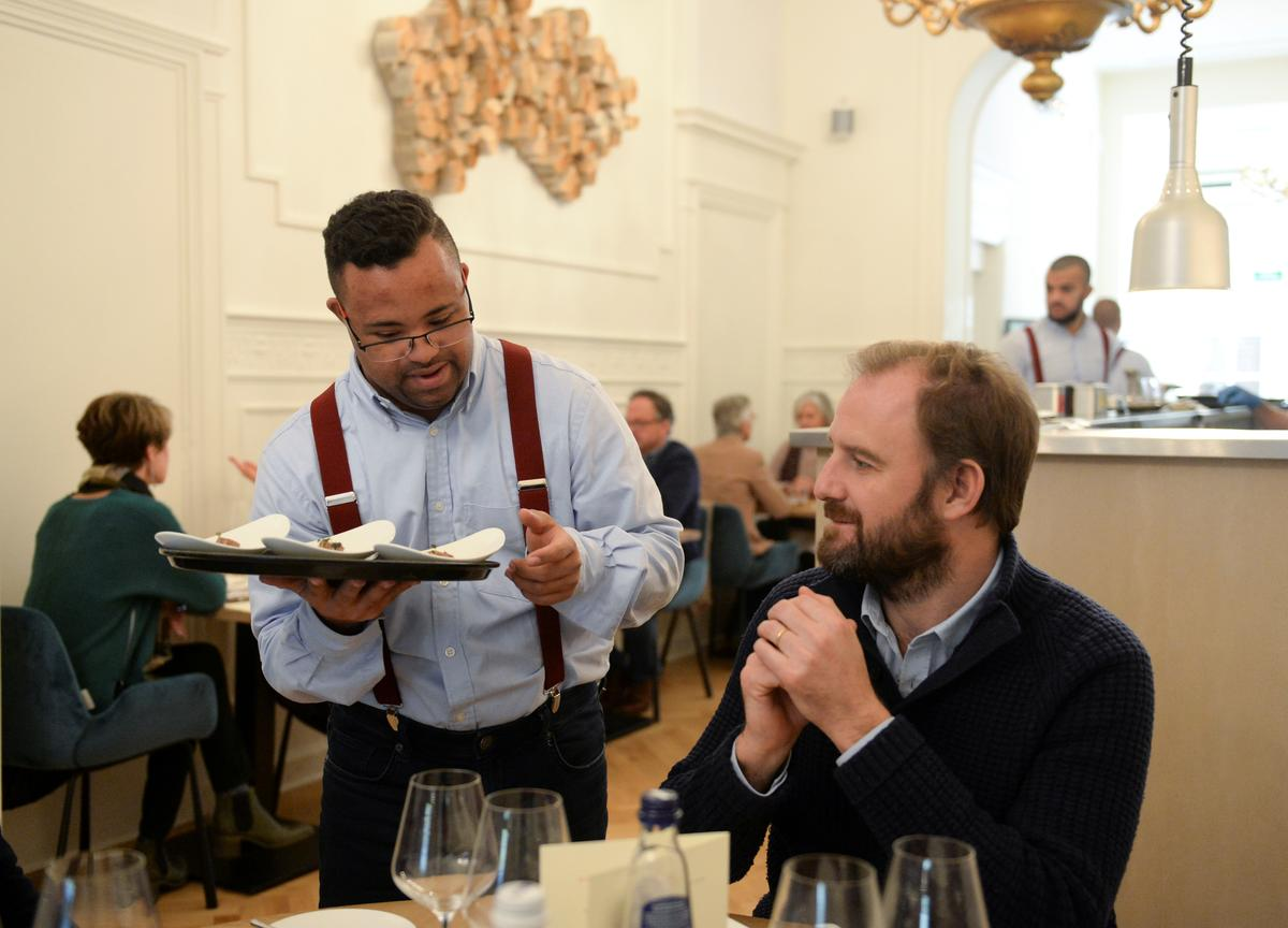 Dining and Down Syndrome, a winning combination for Brussels...