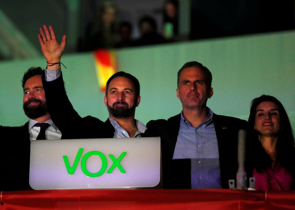 Spanish far-right party boycotts gender violence declaration