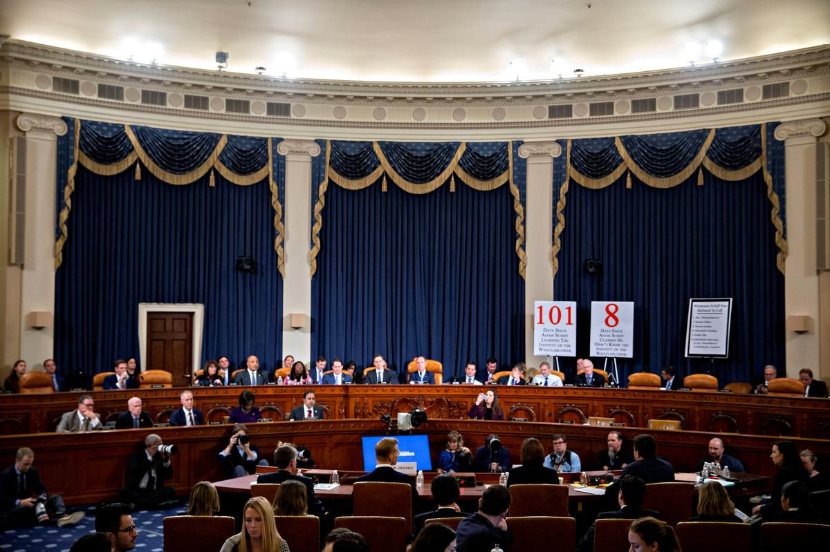 Net support for impeachment grew steadily during U.S. congressional hearings, poll shows