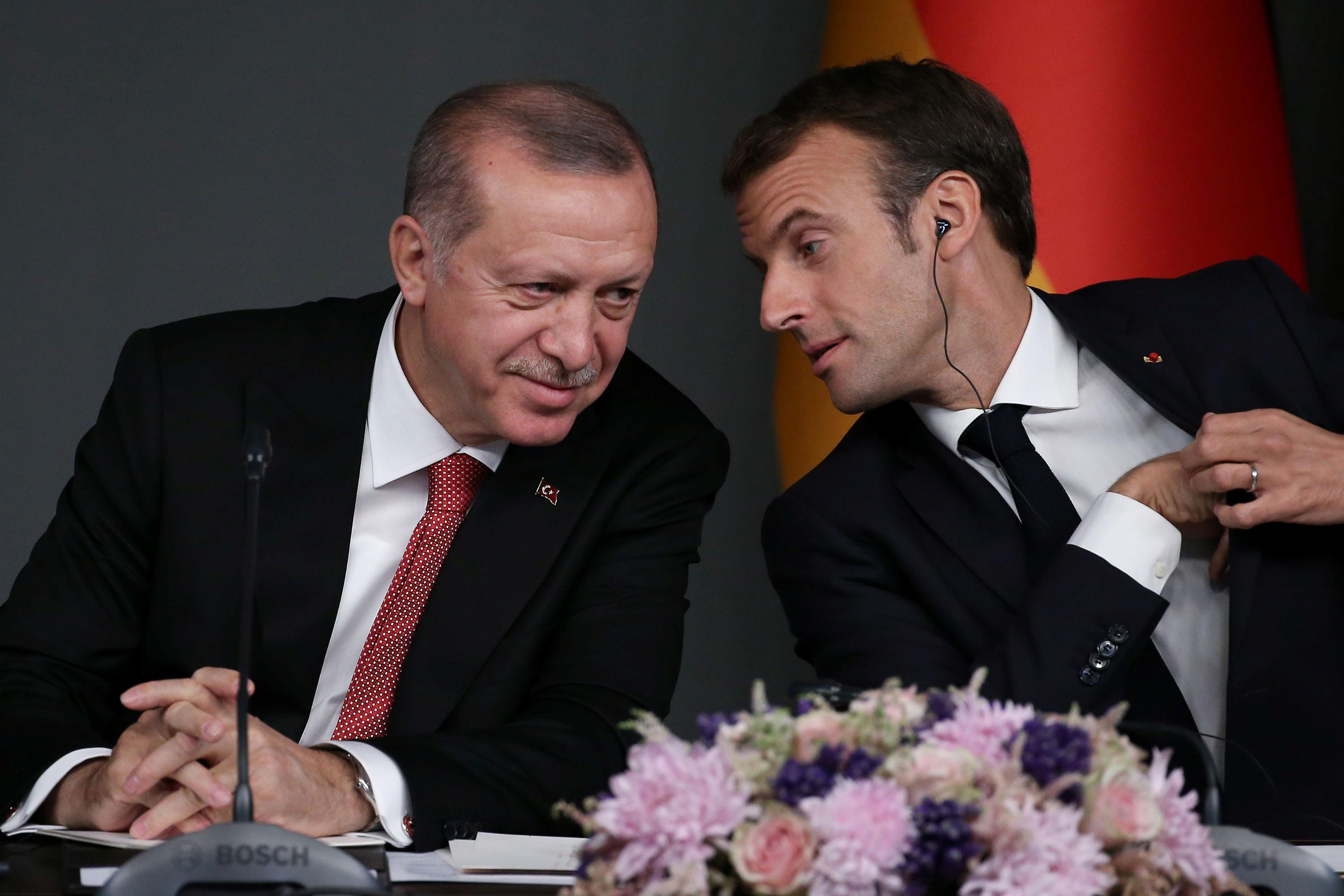 Are you 'brain-dead'? Turkey's Erdogan raps Macron before NATO summit