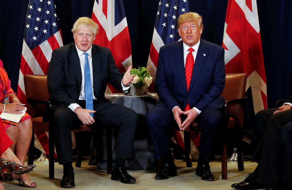 Johnson to Trump - keep out of UK election