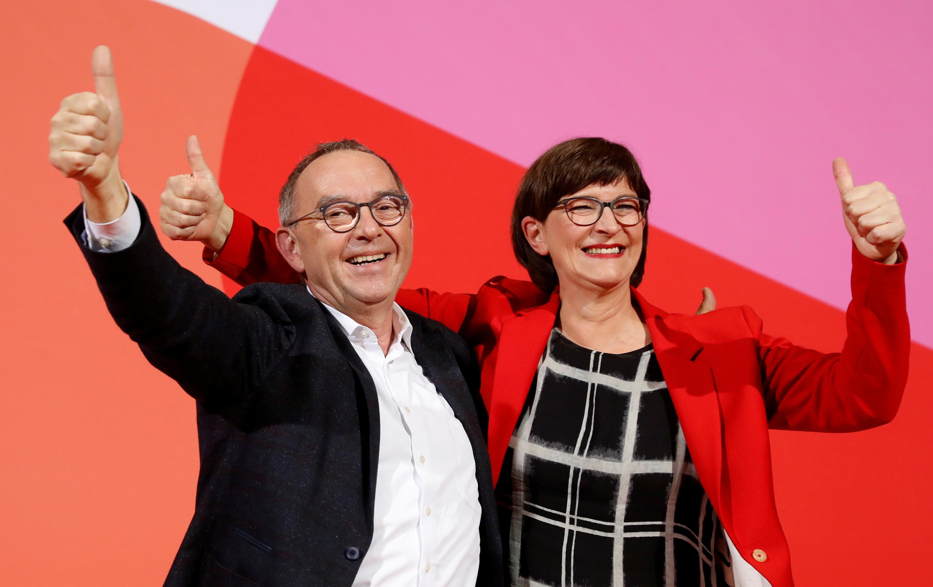 SPD leadership choice threatens Germany's ruling coalition