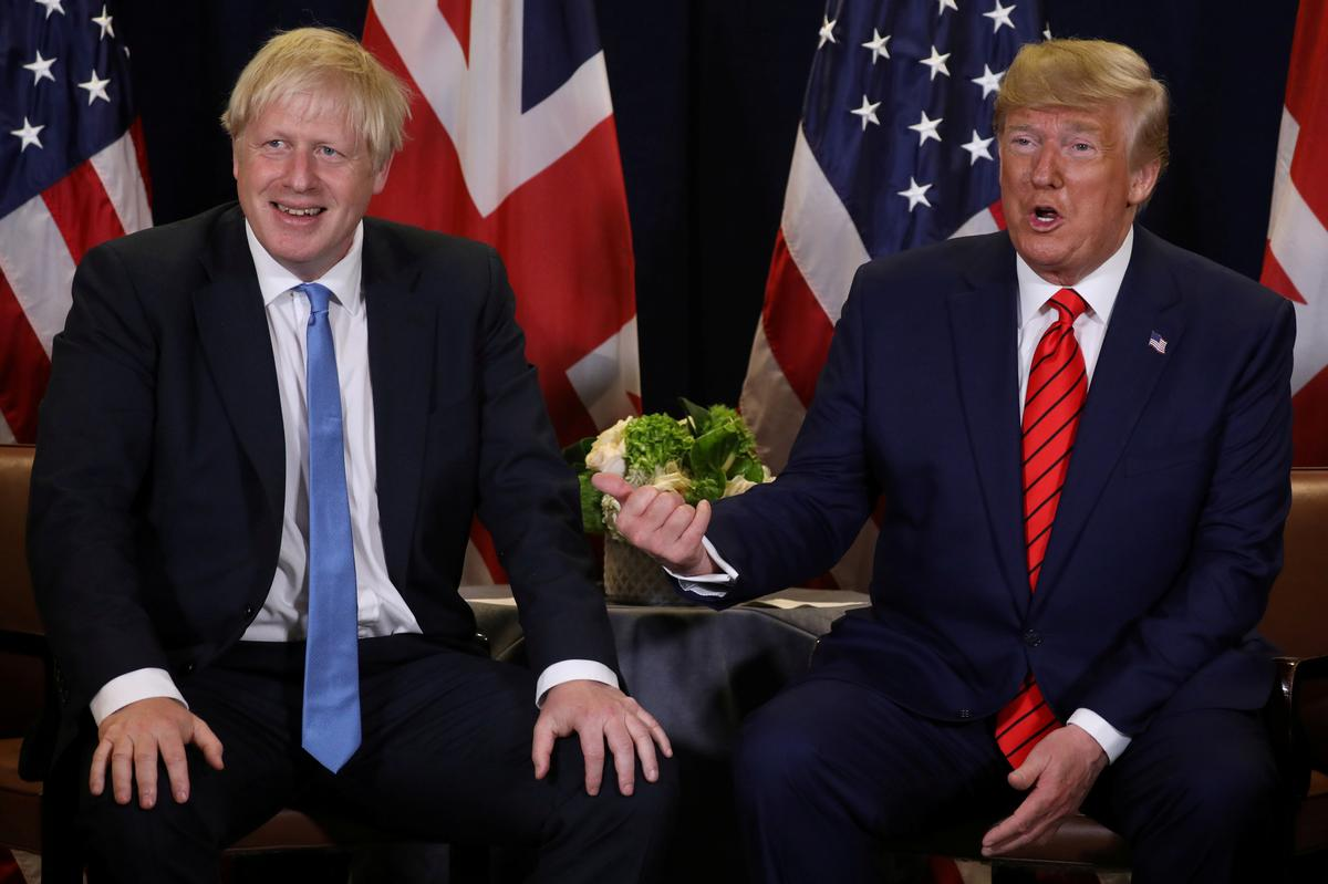 Trump off to London for NATO summit, under pressure to steer clear...