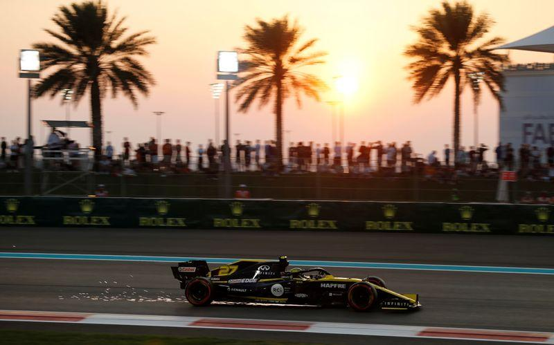 Motor racing: Hulkenberg bows out with fans voting him 'Driver of the Day'