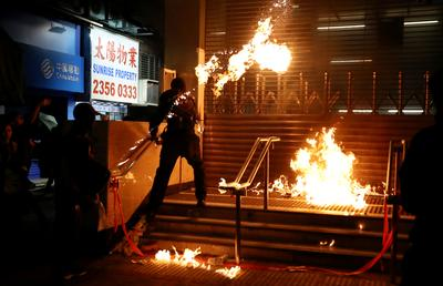 Thousands take to Hong Kong streets in fresh protests