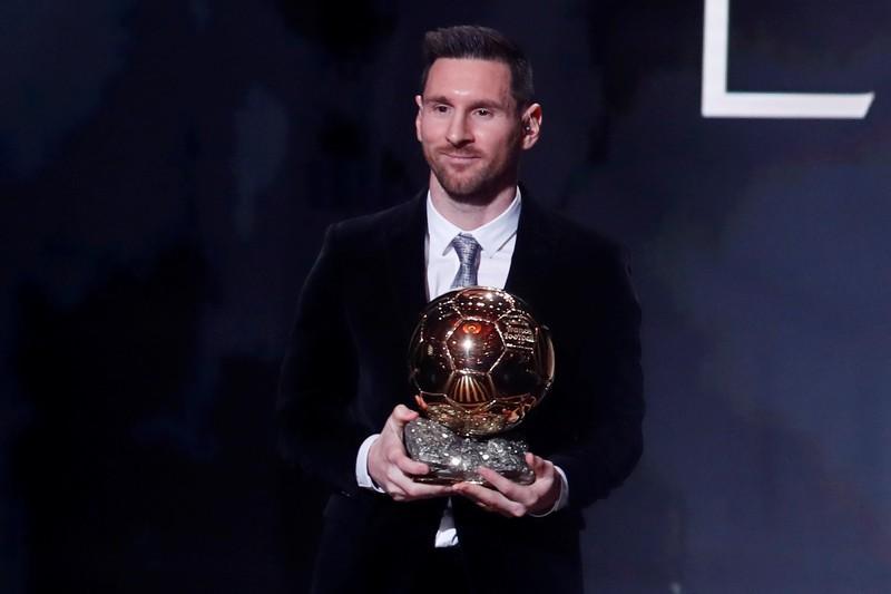 Messi wins record sixth men's Ballon d'Or award