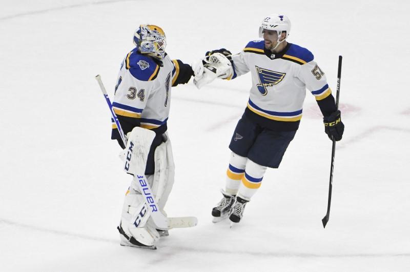 Bilan de la LNH: Allen et les Blues éliminent les Blackhawks
