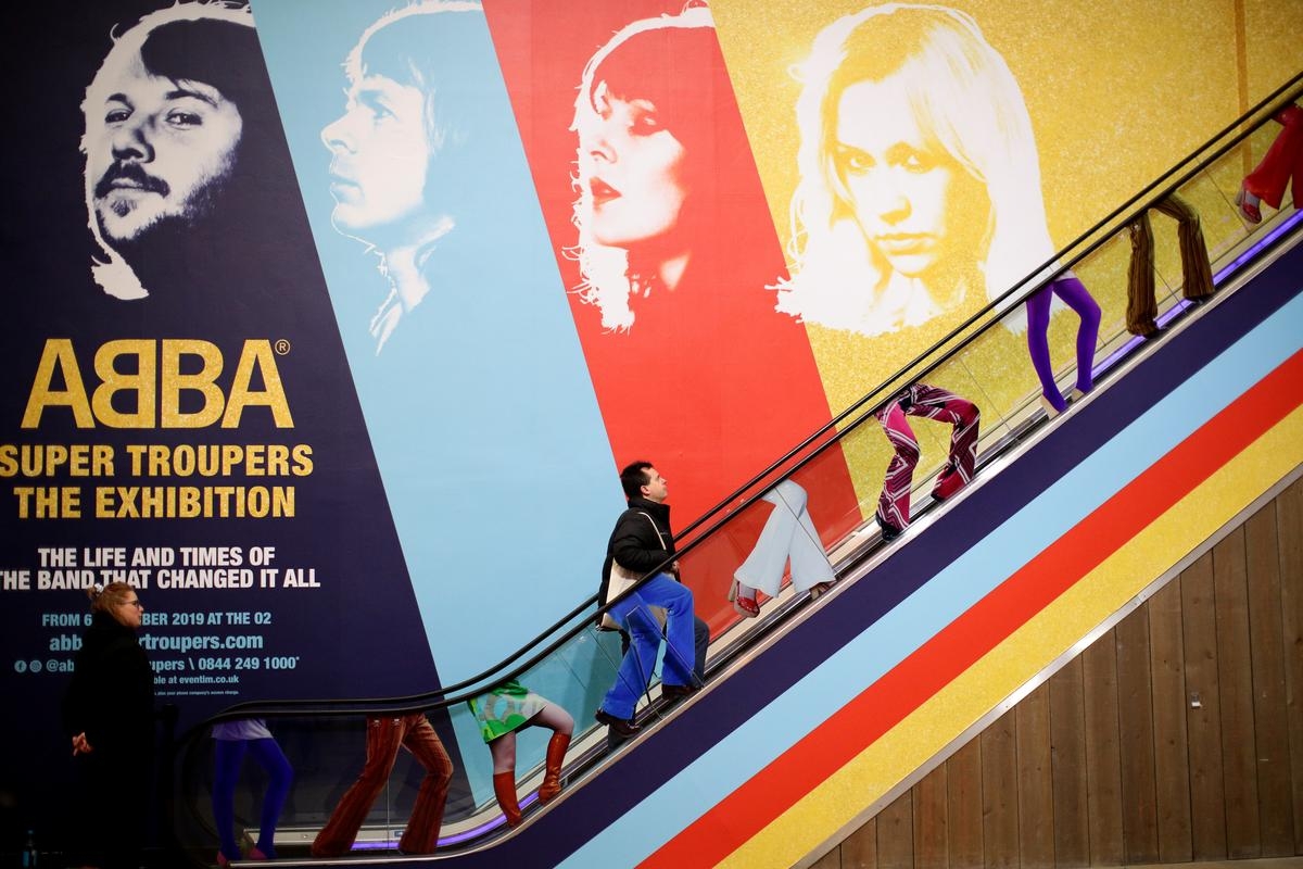 'Super Trouper': ABBA exhibition opens in London