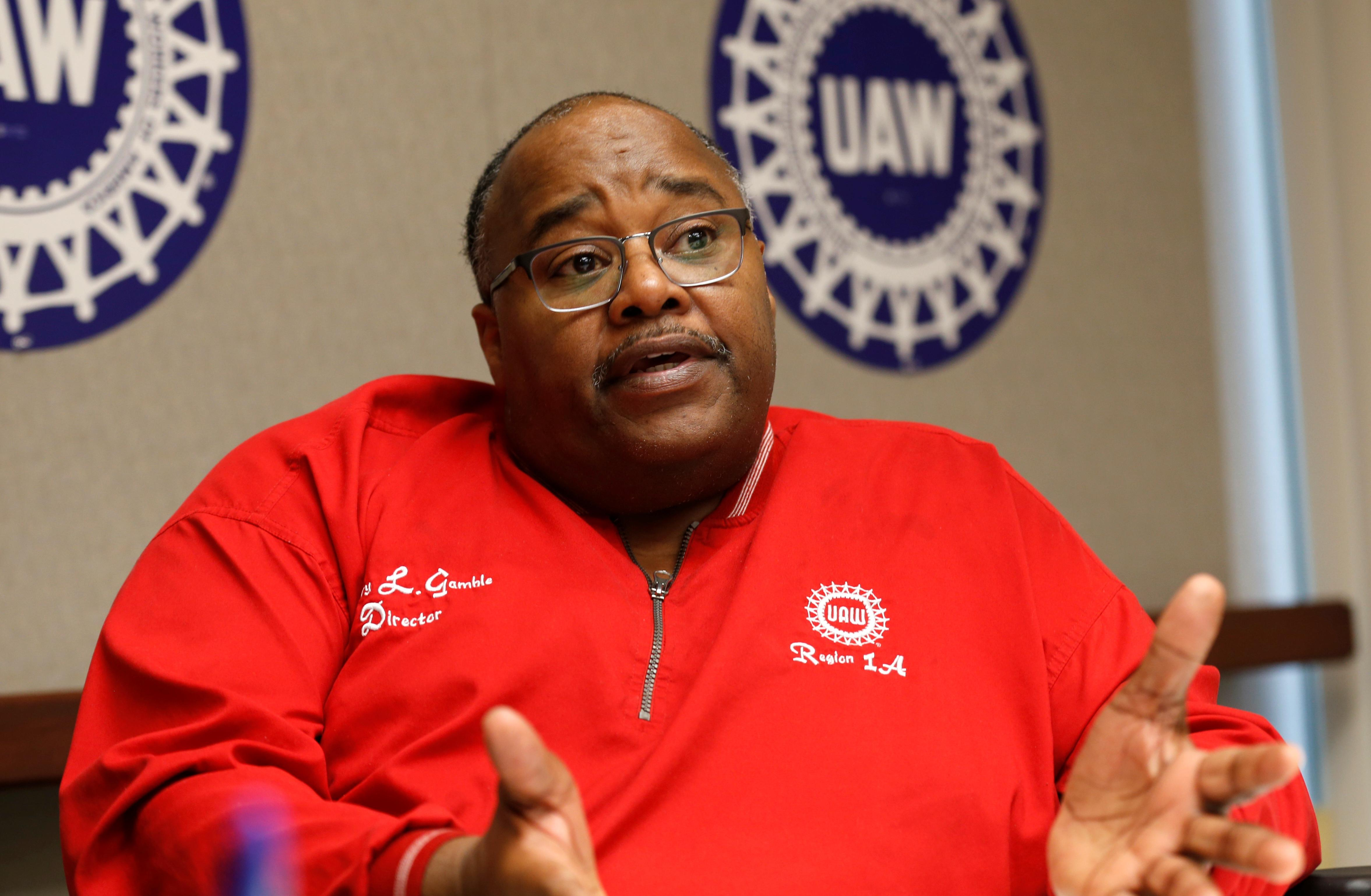 United Auto Workers union names reformer Gamble president until 2022