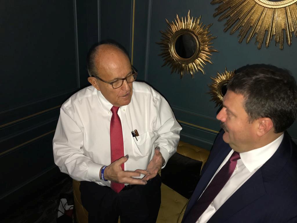 Ukraine lawmaker met Giuliani to discuss misuse of U.S. taxpayer...