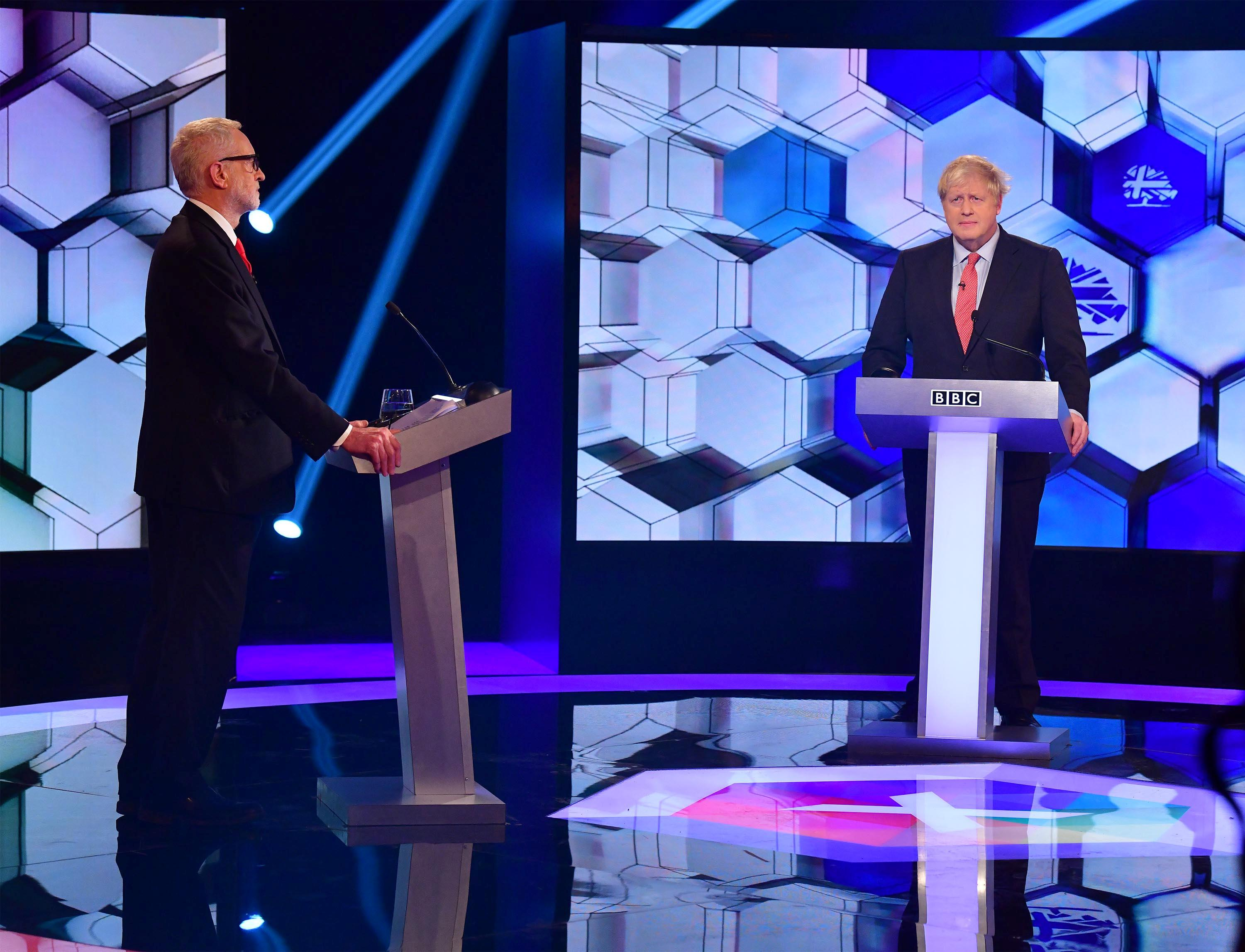 Johnson, Corbyn wage Brexit battle in final debate before UK election