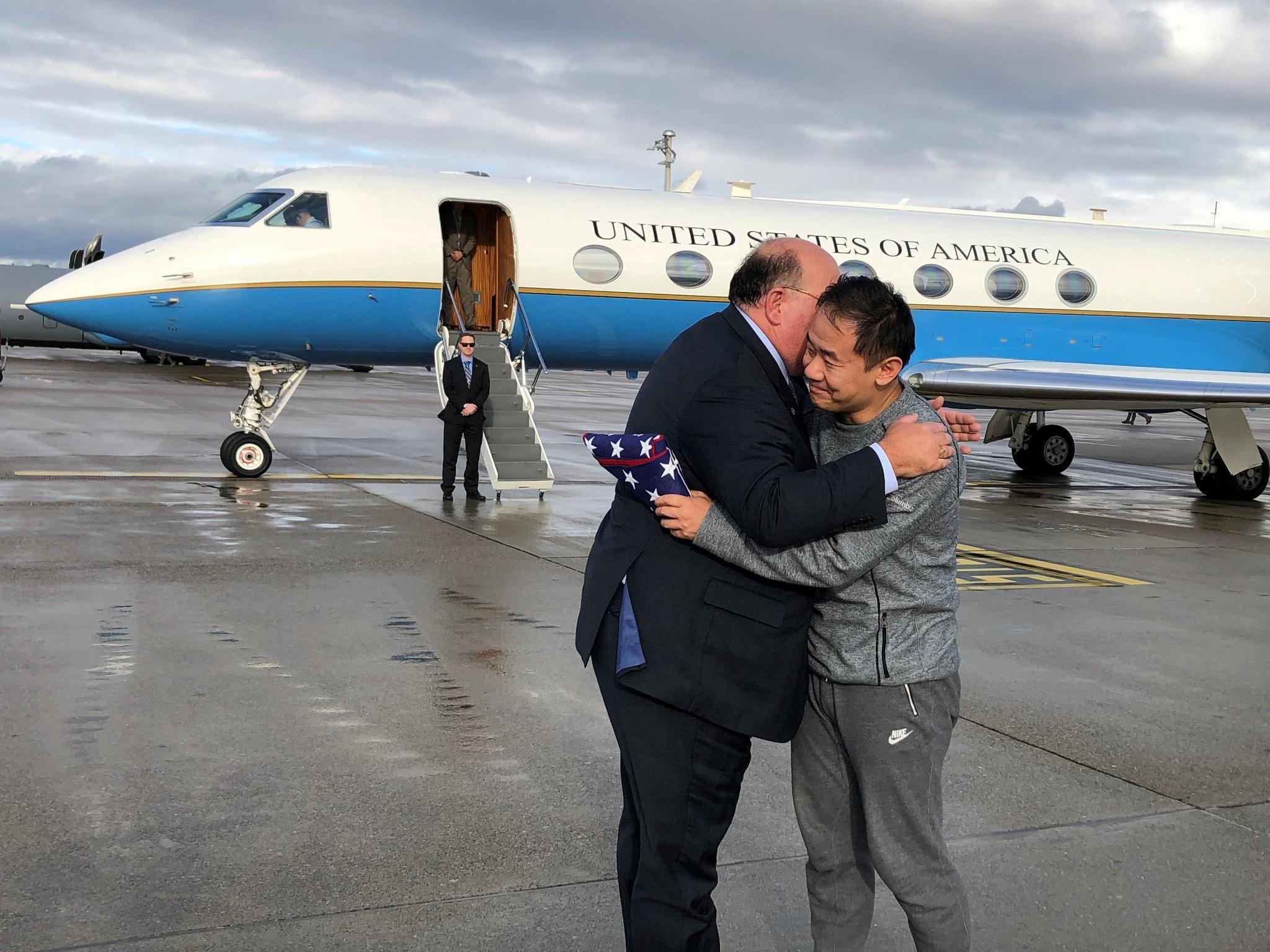 Chinese-American freed from Iran, Iranian freed from U.S. in prisoner swap