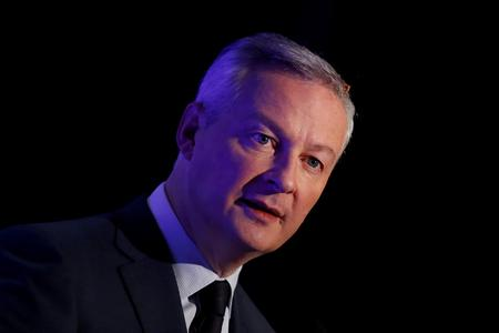 UPDATE 1-France ready to take Trump's tariff threat to WTO - Le Maire