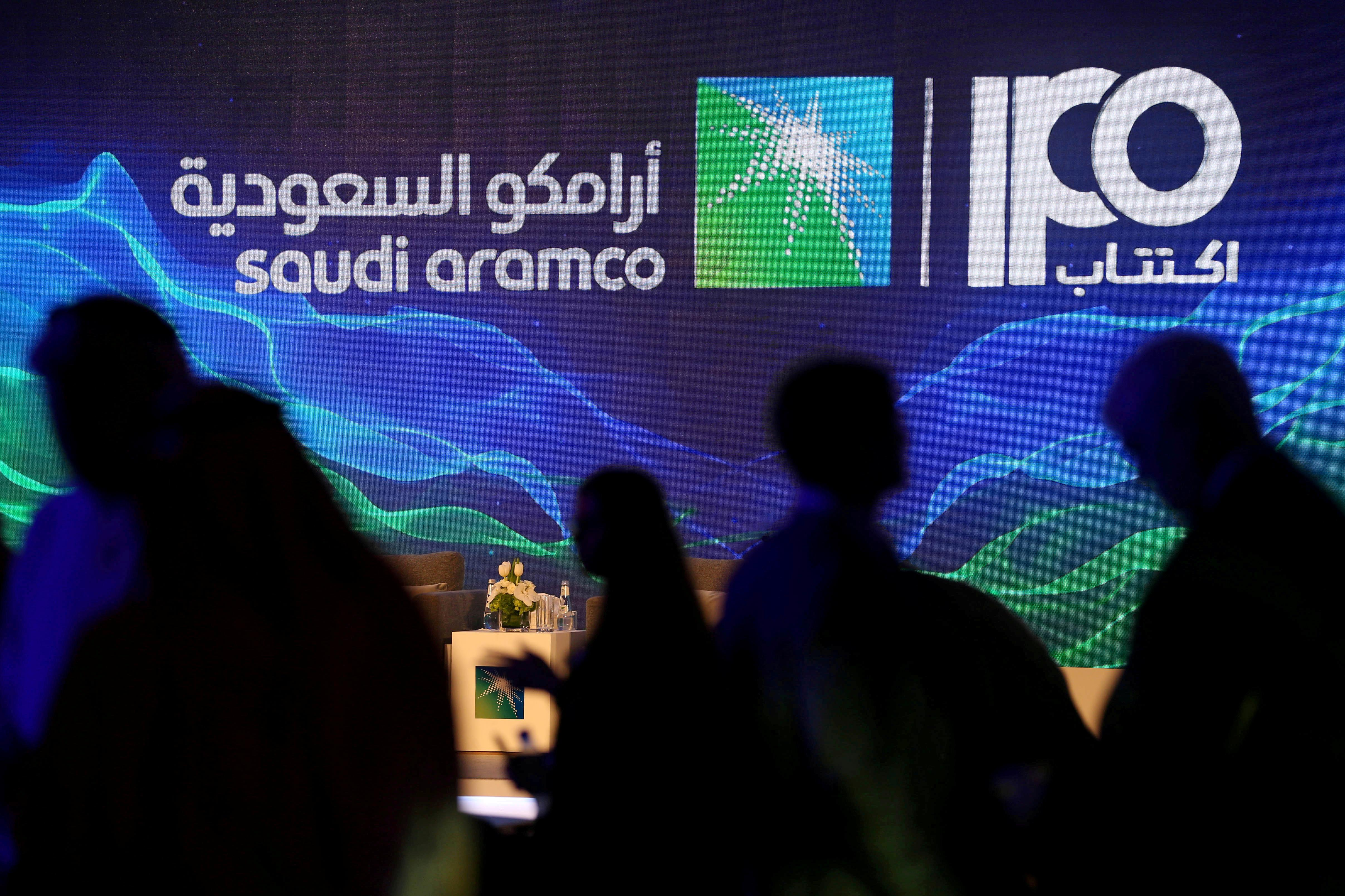 Saudi Aramco will exercise 15% greenshoe option in whole or part...