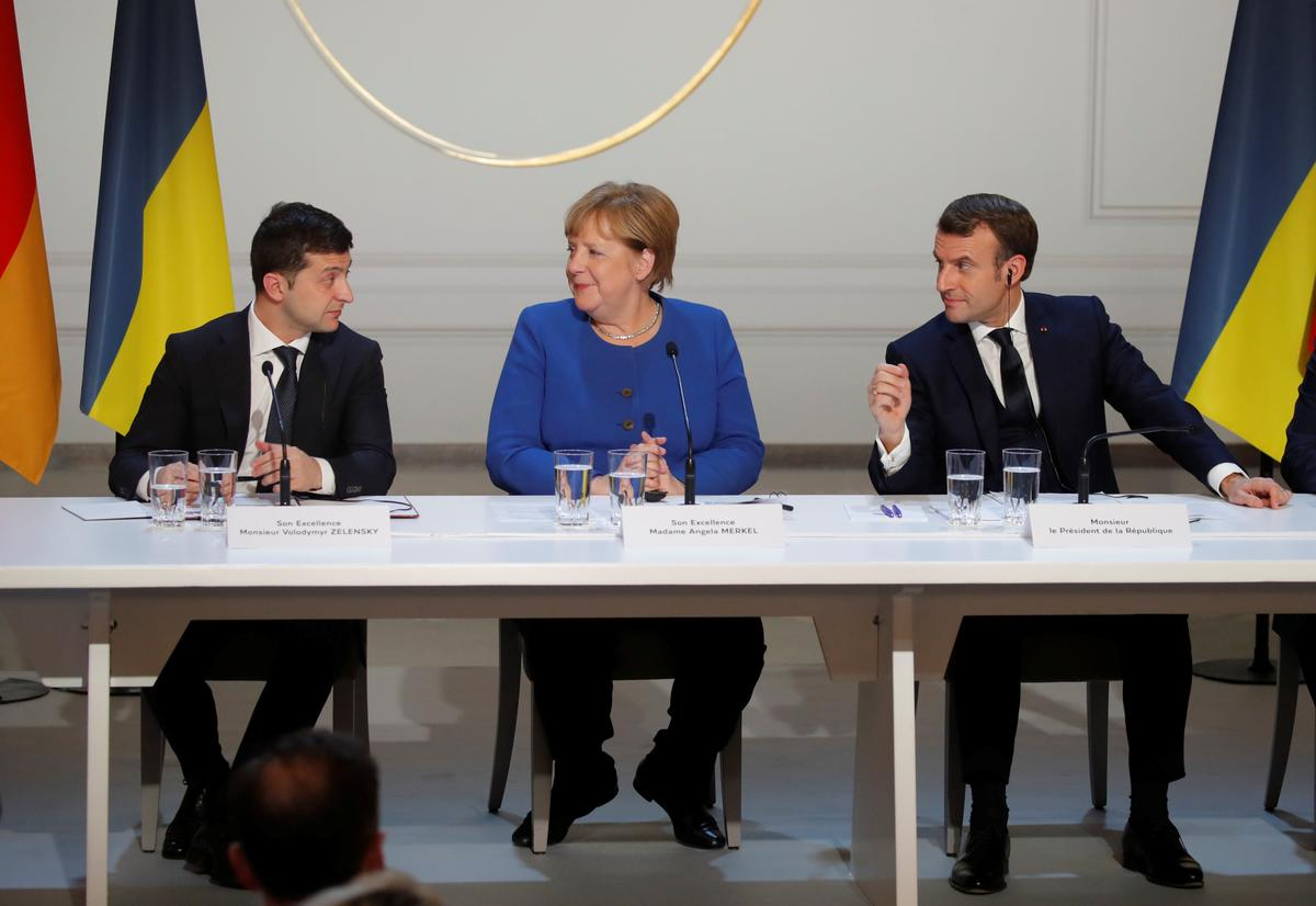 Merkel says there is more work to do on Ukraine, as she cites 'momentum'