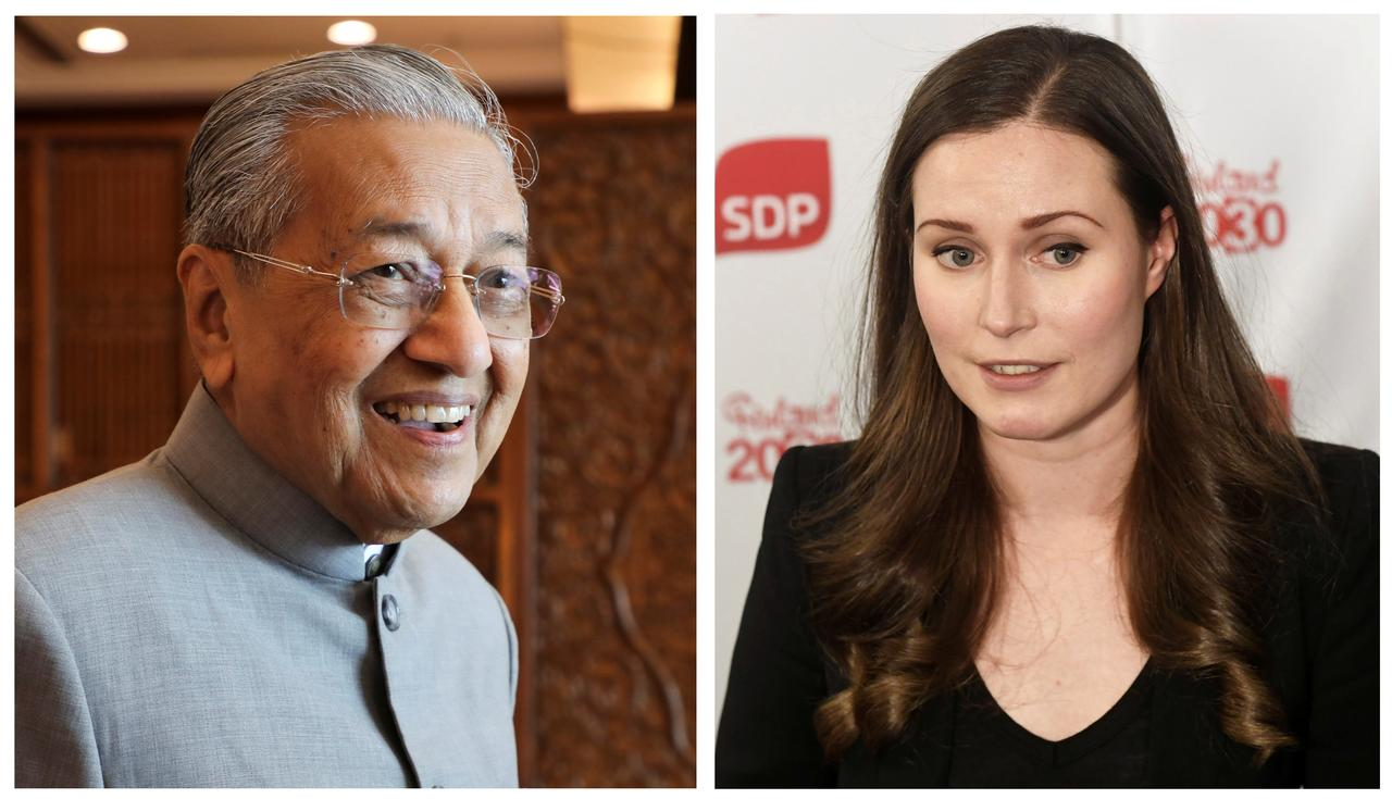 Image result for finland pm and mahathir mohamad