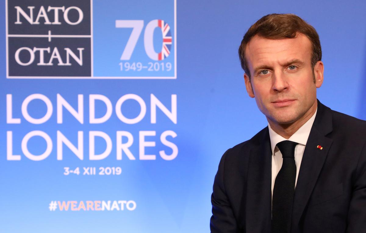 France's Macron: let's press on with Brexit after UK's election