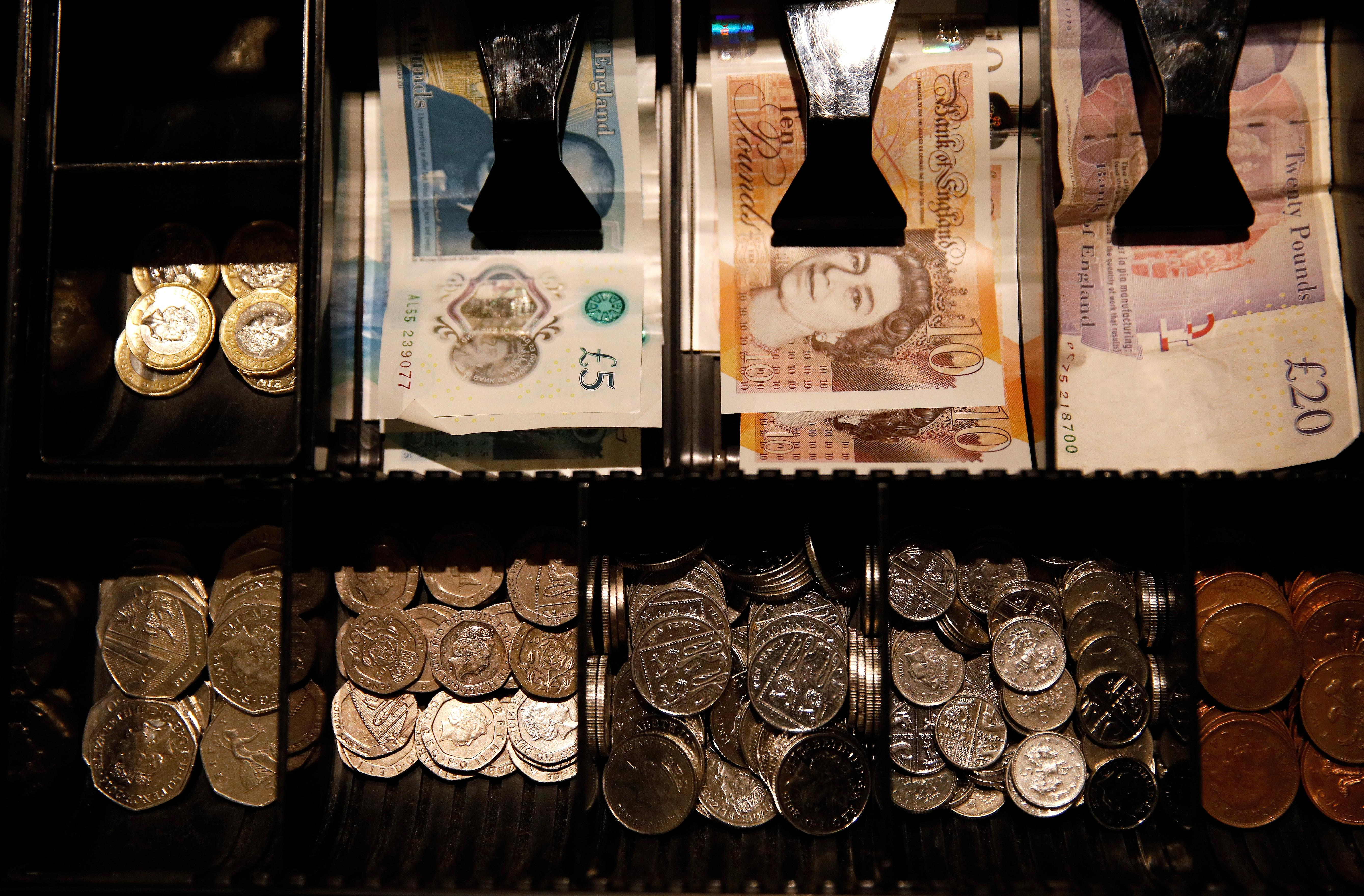 Sterling hits a seven-month high as election nears