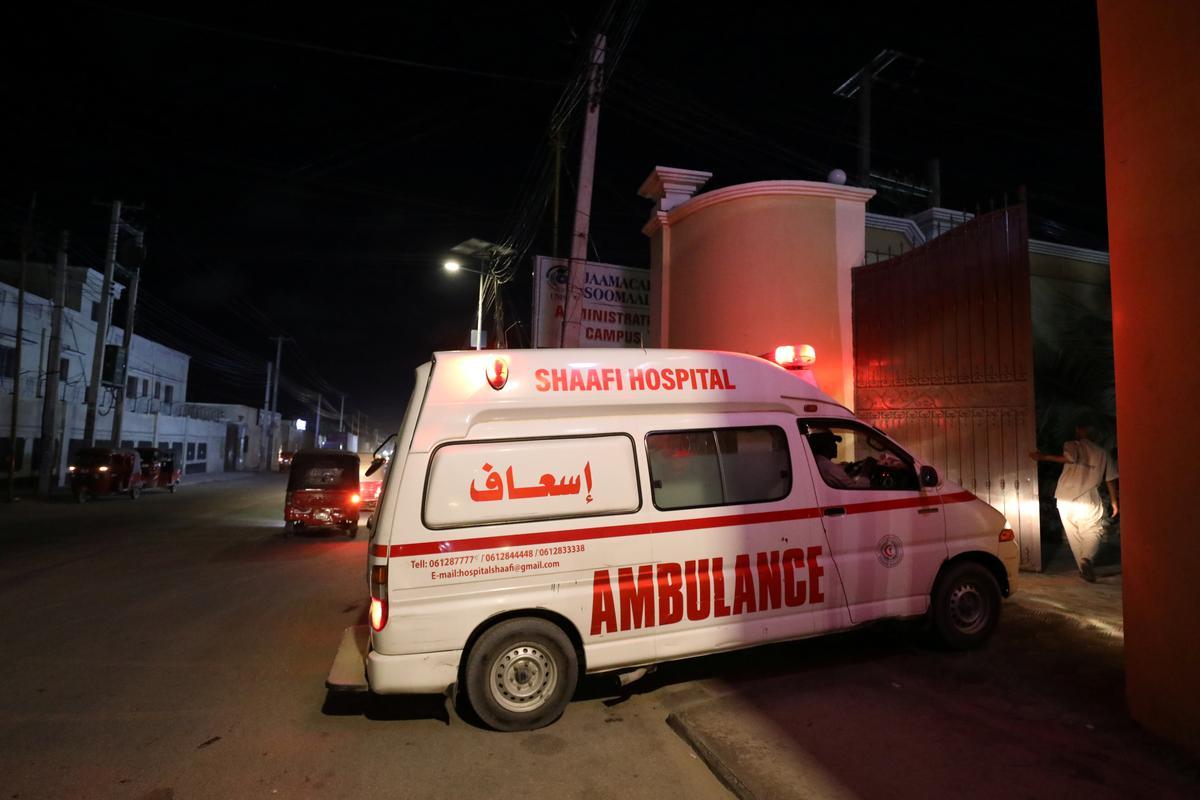 Islamists attack Somali hotel, police say two militants killed