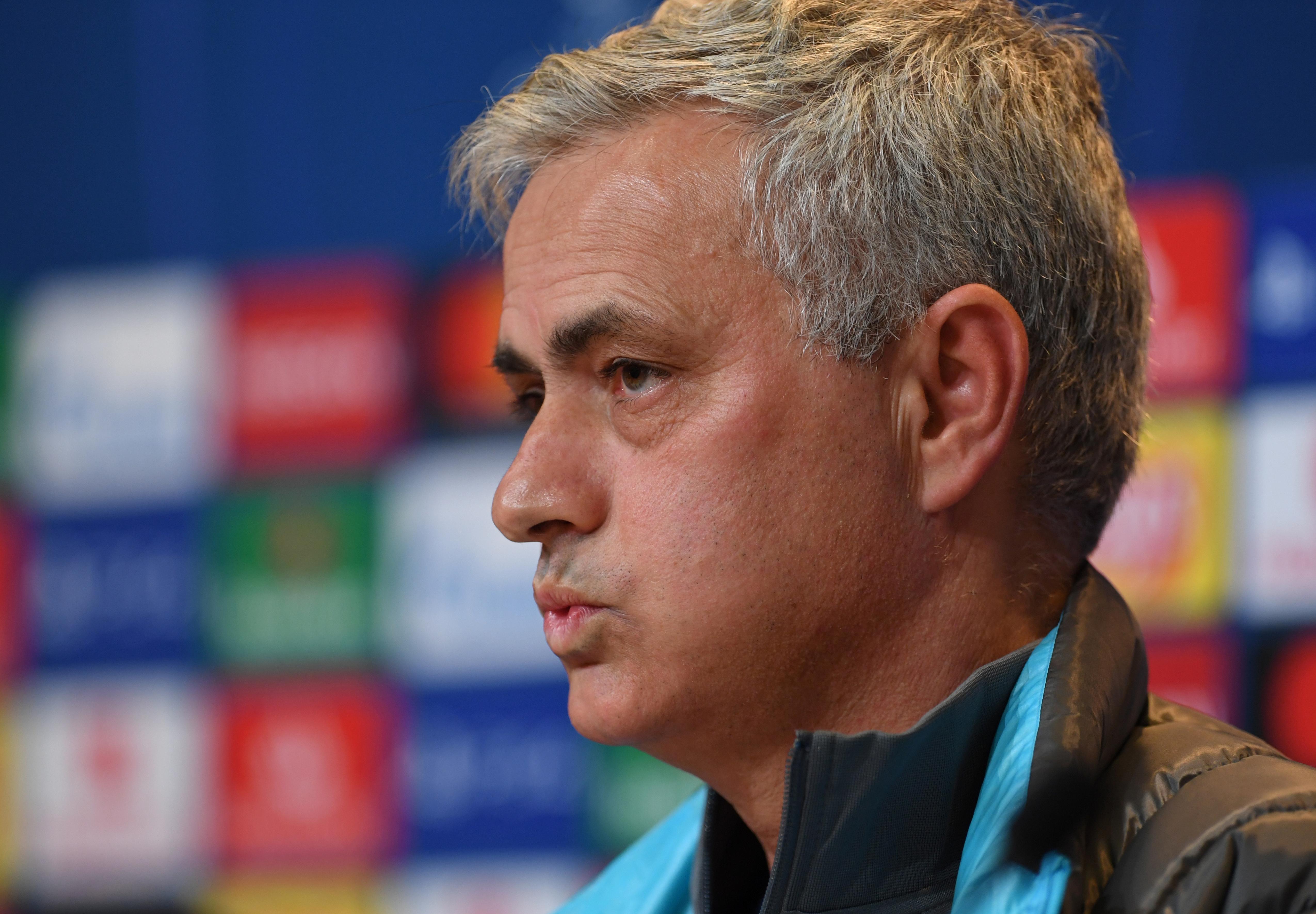 Mourinho bans Spurs players from watching Bayern thrashing