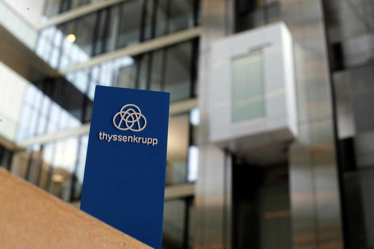 Thyssenkrupp's elevator unit eyes margin lift as sale nears