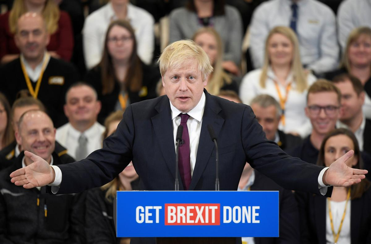 British PM Johnson says election could not be tighter