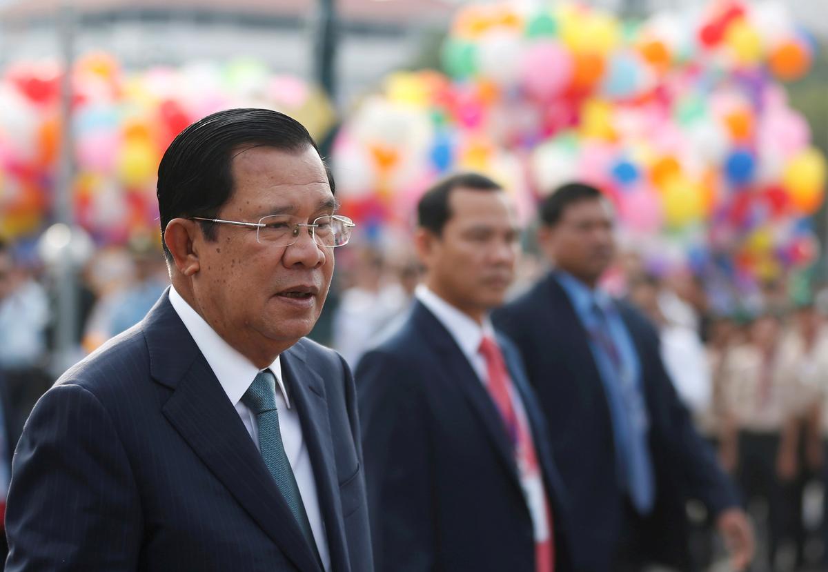 Cambodia PM dismisses EU sanctions threat, says Brexit will limit impact