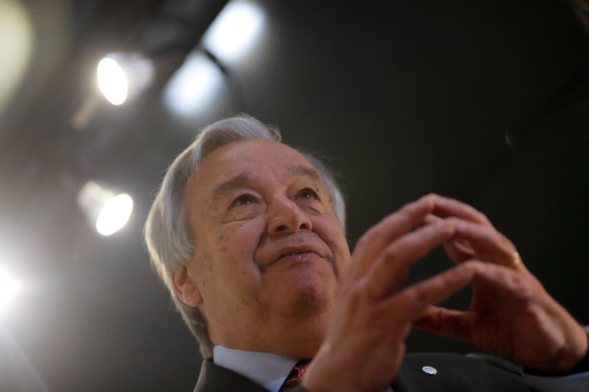 U.N. head demands bolder climate action or 'we are doomed'