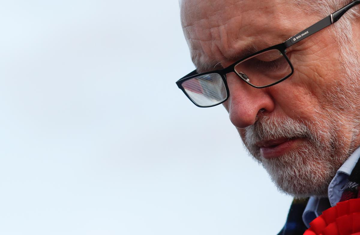 UK Labour cuts Conservative lead ahead of election - poll